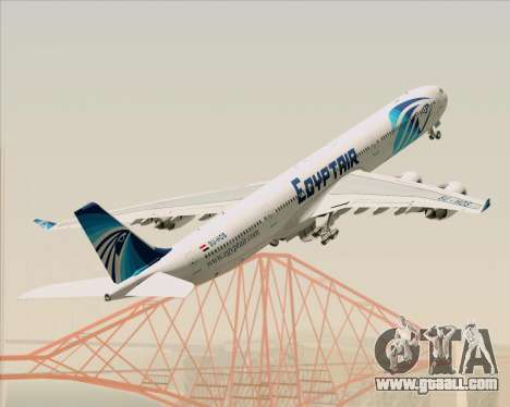 Airbus A340-600 EgyptAir for GTA San Andreas