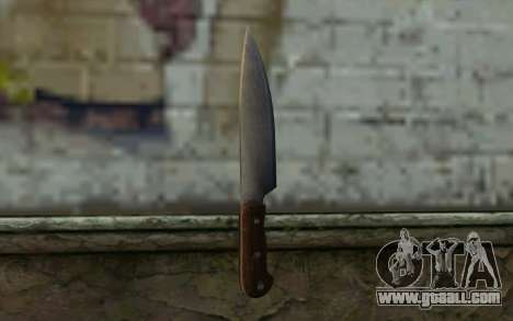 Kitchen Knife (DayZ Standalone) for GTA San Andreas second screenshot