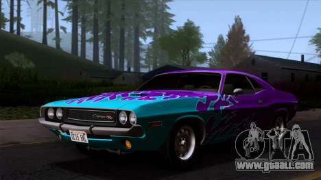 Dodge Challenger 426 Hemi (JS23) 1970 (ImVehFt) for GTA San Andreas engine