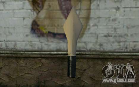 Knife from Cutscene for GTA San Andreas