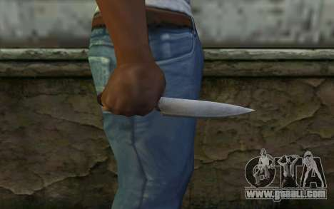 Kitchen Knife (DayZ Standalone) for GTA San Andreas third screenshot