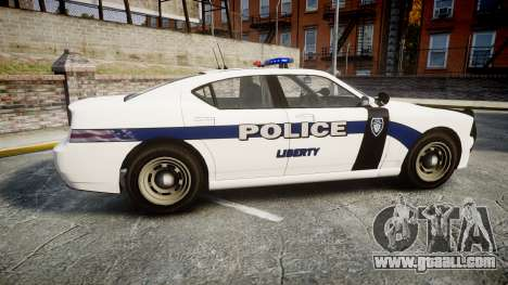 GTA V Bravado Buffalo Liberty Police [ELS] for GTA 4 left view