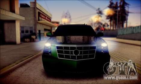 Cadillac Escalade Ninja for GTA San Andreas engine