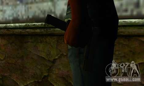 Glock 18 from Medal of Honor: Warfighter for GTA San Andreas third screenshot