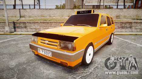 Tofas Kartal SLX Taxi for GTA 4