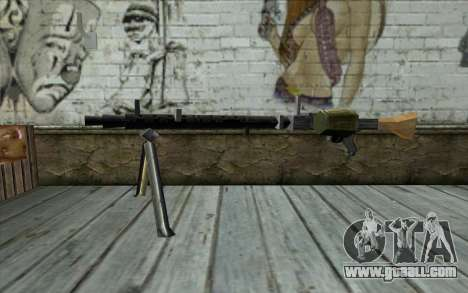 MG-34 from Day of Defeat for GTA San Andreas