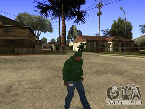 Cleo Walk Style for GTA San Andreas forth screenshot