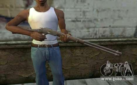 Winchester 1873 v3 for GTA San Andreas third screenshot