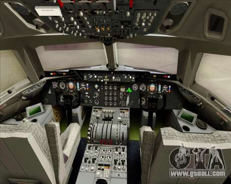 McDonnell Douglas DC-10-30 Iberia for GTA San Andreas interior