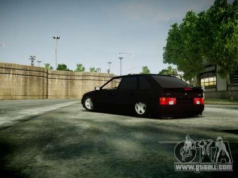 VAZ 2114 for GTA 4 back left view