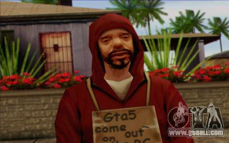 Squad member AI Skin 2 for GTA San Andreas third screenshot