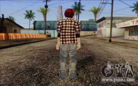 Mila 2Wave from Dead or Alive v9 for GTA San Andreas second screenshot