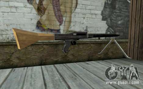 MG-34 from Day of Defeat for GTA San Andreas second screenshot