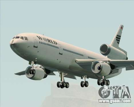 McDonnell Douglas DC-10-30 World Airways for GTA San Andreas