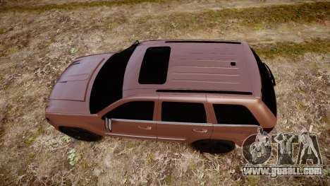 Jeep Grand Cherokee SRT8 rim lights for GTA 4 right view