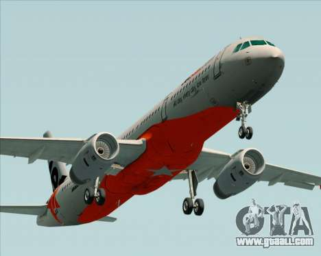 Airbus A321-200 Jetstar Airways for GTA San Andreas engine