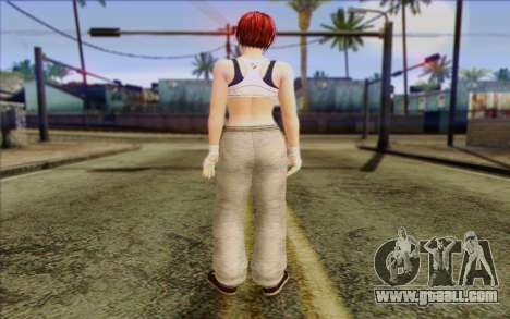 Mila 2Wave from Dead or Alive v14 for GTA San Andreas