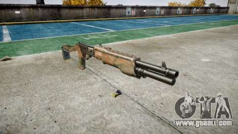 Ружьё Franchi SPAS-12 Jungle for GTA 4