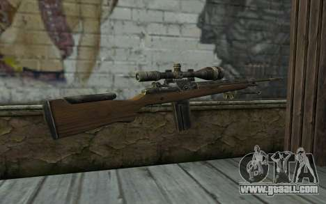 M21 from Battlefield: Vietnam for GTA San Andreas second screenshot