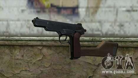 Stechkin Automatic Pistol for GTA San Andreas