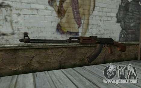 RPK 74 from Battlefield 4 for GTA San Andreas