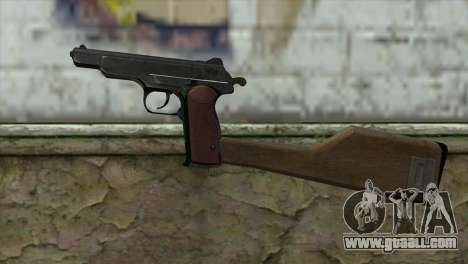 Stechkin Automatic Pistol for GTA San Andreas third screenshot