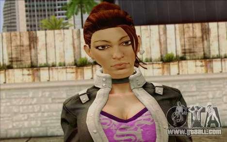 Shaundi from Saints Row The Third for GTA San Andreas third screenshot