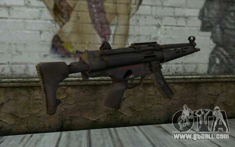 MP5 from FarCry 3 for GTA San Andreas second screenshot