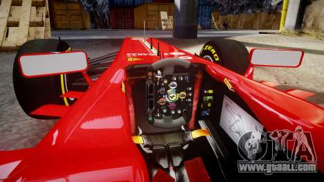 Ferrari F138 v2.0 [RIV] Alonso TSD for GTA 4 inner view