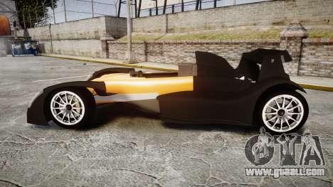 Caparo T1 for GTA 4 left view