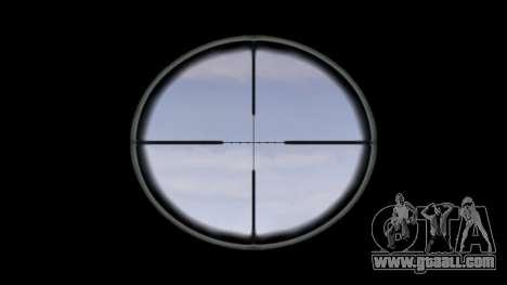 Rifle M16A4 ACOG target for GTA 4 third screenshot