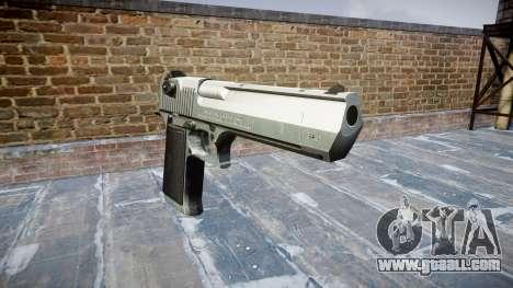 Пистолет IMI Desert Eagle Mk XIX Chrome for GTA 4