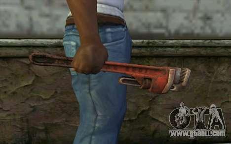 Wrench (DayZ Standalone) for GTA San Andreas third screenshot