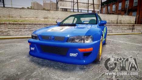 Subaru Impreza WRC 1998 World Rally for GTA 4
