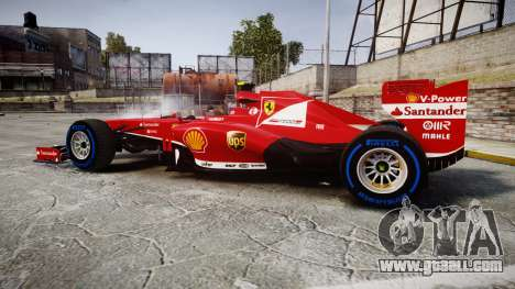 Ferrari F138 v2.0 [RIV] Massa TFW for GTA 4 left view