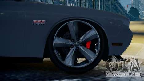 Dodge Challenger SRT8 for GTA 4 back left view