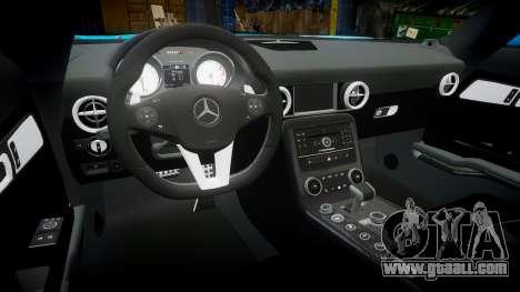 Mercedes-Benz SLS AMG v3.0 [EPM] Kotori Minami for GTA 4 inner view