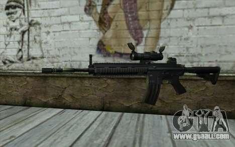 HK416 (Bump mapping) v2 for GTA San Andreas