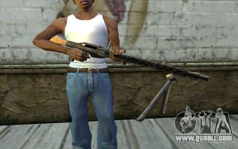 MG-34 from Day of Defeat for GTA San Andreas third screenshot