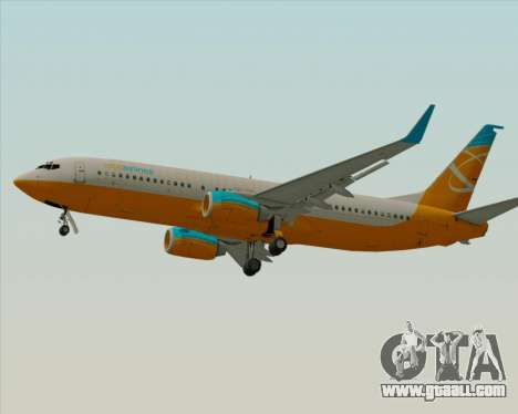 Boeing 737-800 Orbit Airlines for GTA San Andreas side view