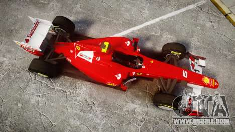 Ferrari 150 Italia Massa for GTA 4 right view