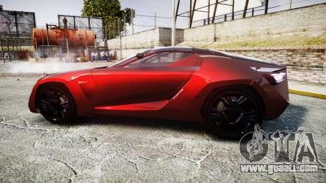 Bertone Mantide 2009 for GTA 4 left view