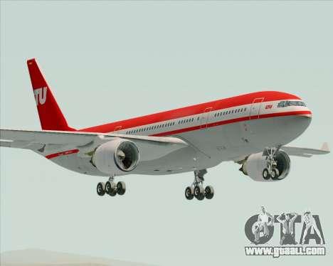 Airbus A330-200 LTU International for GTA San Andreas