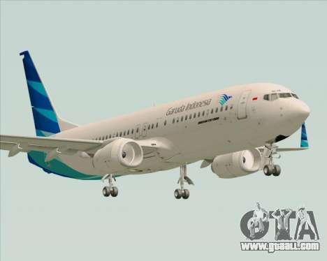 Boeing 737-800 Garuda Indonesia for GTA San Andreas