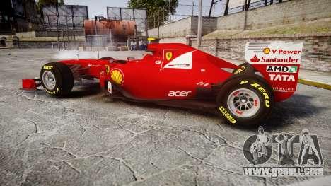 Ferrari 150 Italia Massa for GTA 4 left view