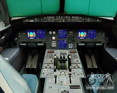 Airbus A321-200 Air Busan for GTA San Andreas interior
