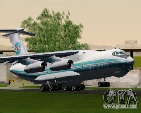 IL-76TD ALROSA for GTA San Andreas back view