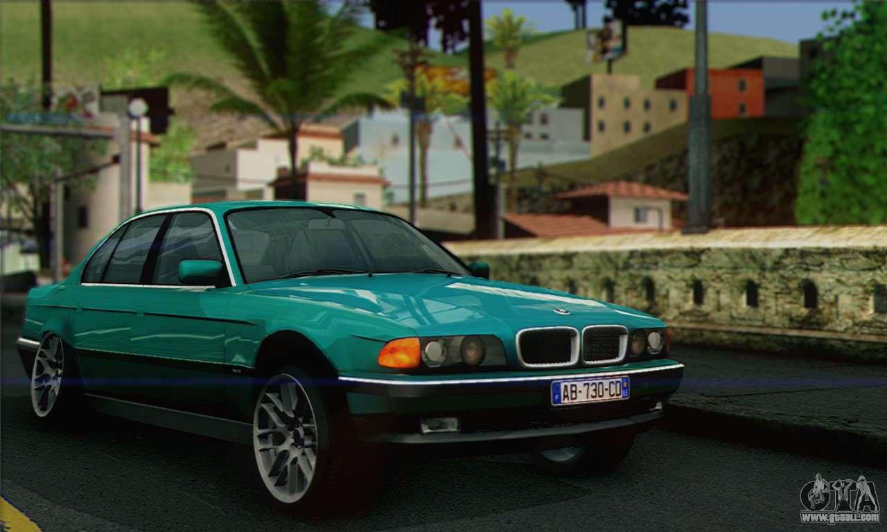 Bmw 7 Series For Gta San Andreas