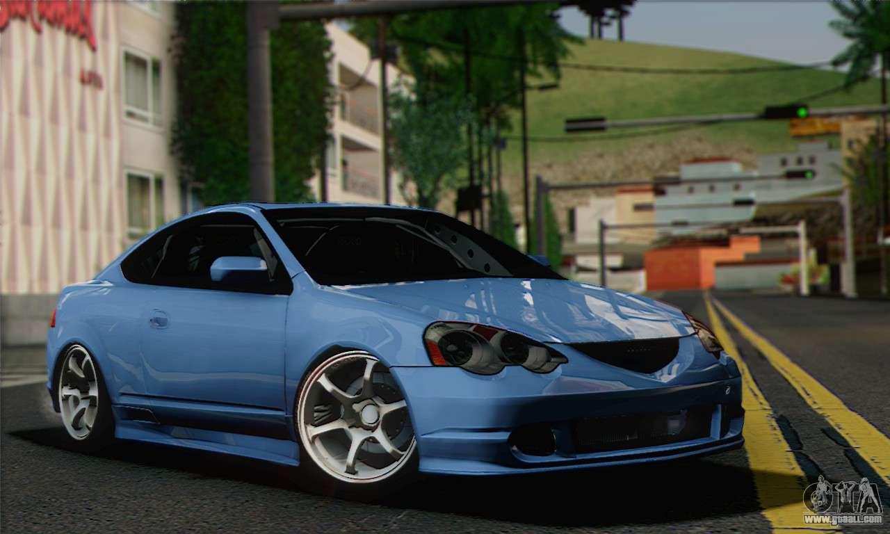 Gta Sa on Modified Acura Integra