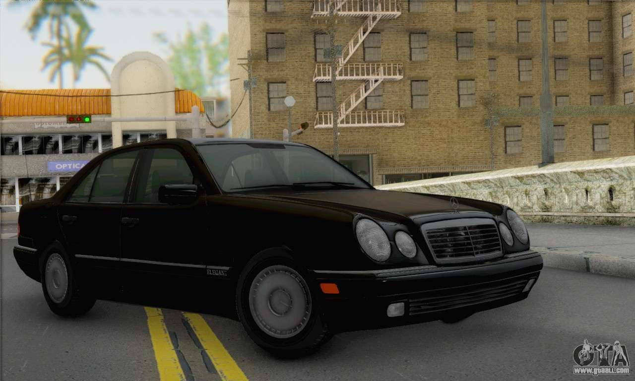 Mercedes benz e420 w210 for gta san andreas for Mercedes benz gta